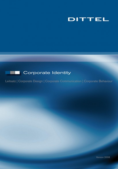 Corportate Design Manual Dittel Messtechnik GmbH