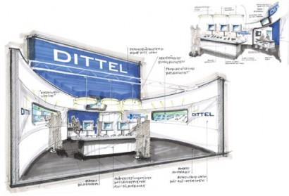Messekonzept Dittel Messtechnik GmbH